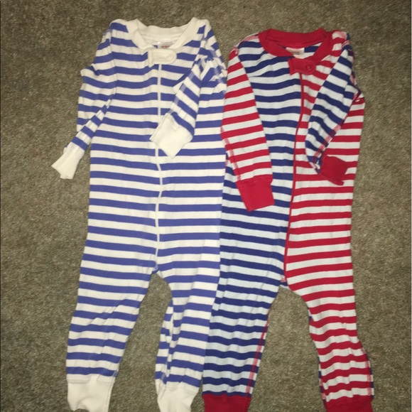 Hanna Andersson Other - 2 Hanna Andersson sleepers size 80- 18-24 m pajama c15d8d240
